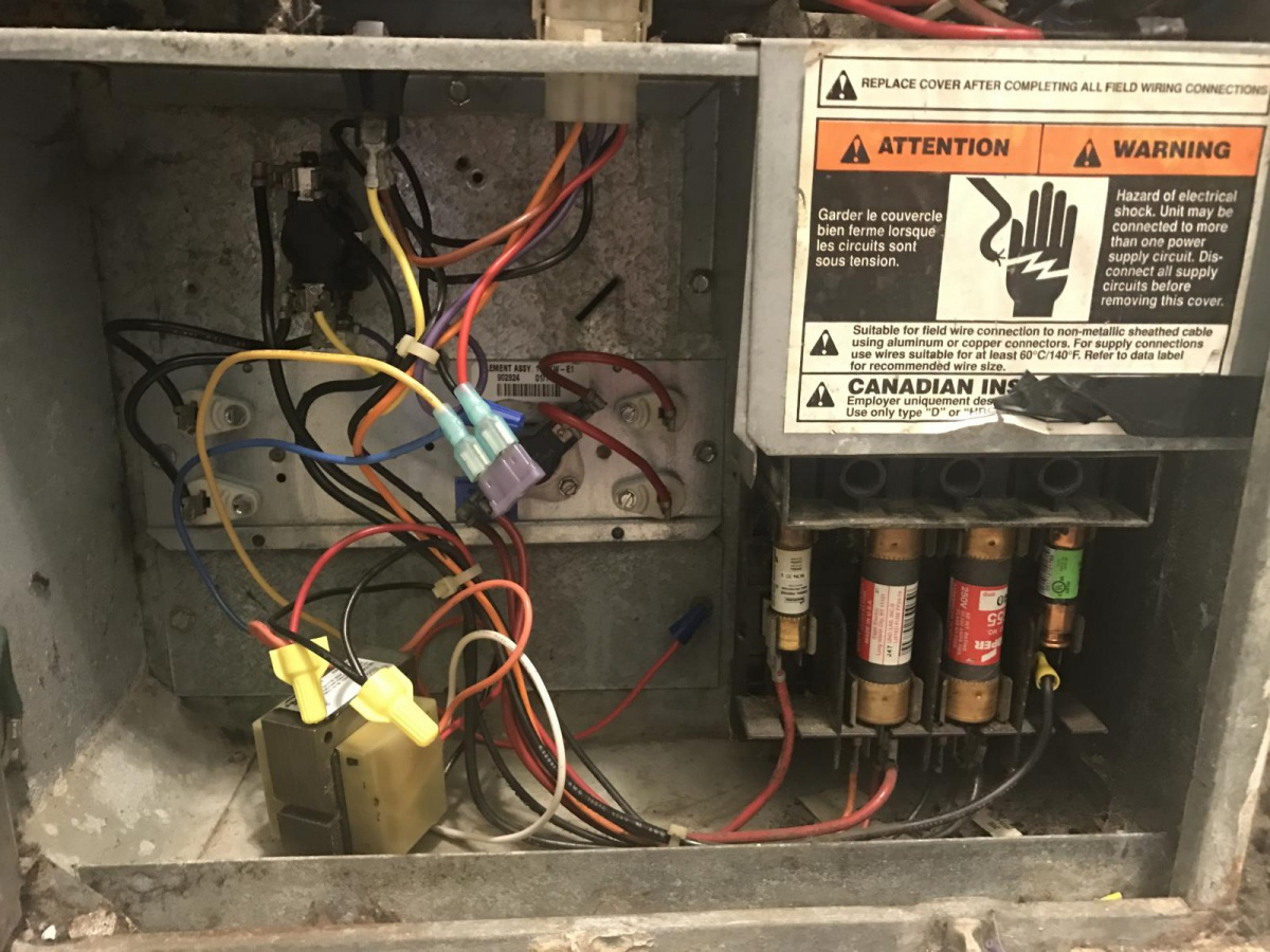 Outdoor Condenser Wired Correctly Hvac Diy Chatroom Home Aluminum Wiring Hazards Img 1598 1504814386766