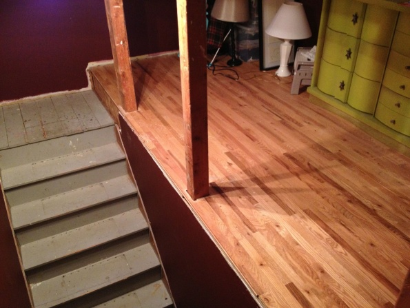 Remove existing hardwood planks to replace with tread-img_1637.jpg