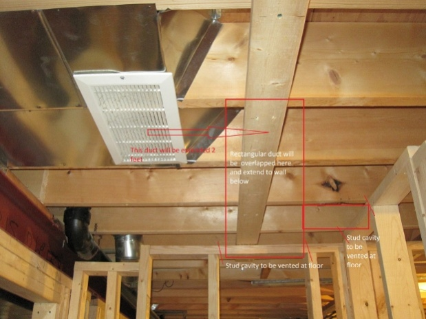 Moving Cold Air Return In Basement, Does A Basement Bedroom Need Cold Air Return