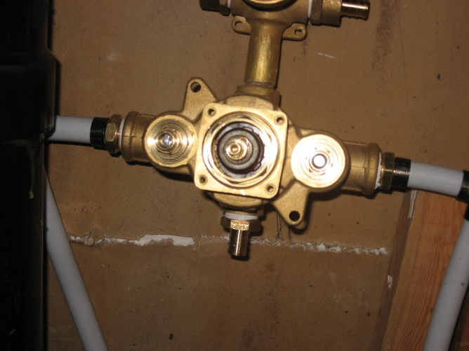 Aqua Brass Shower Valve Question Plumbing Diy Home