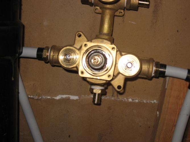 Aqua Brass Shower Valve Question Plumbing Diy Home