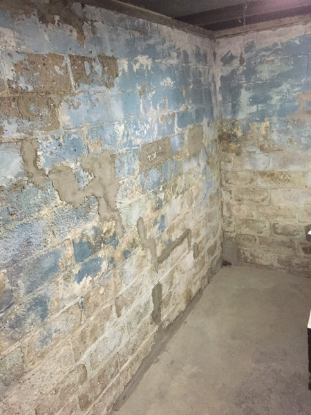 High Quality Best Basement Wall Paint On 100 Year Old Cinderblocks Img_1690 ...
