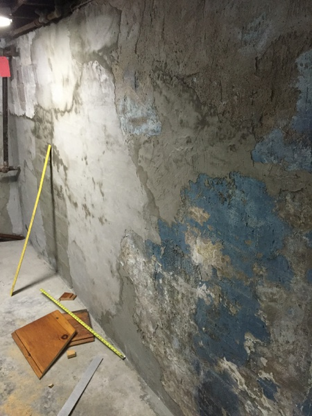 ... Best Basement Wall Paint On 100 Year Old Cinderblocks Img_1691 ...