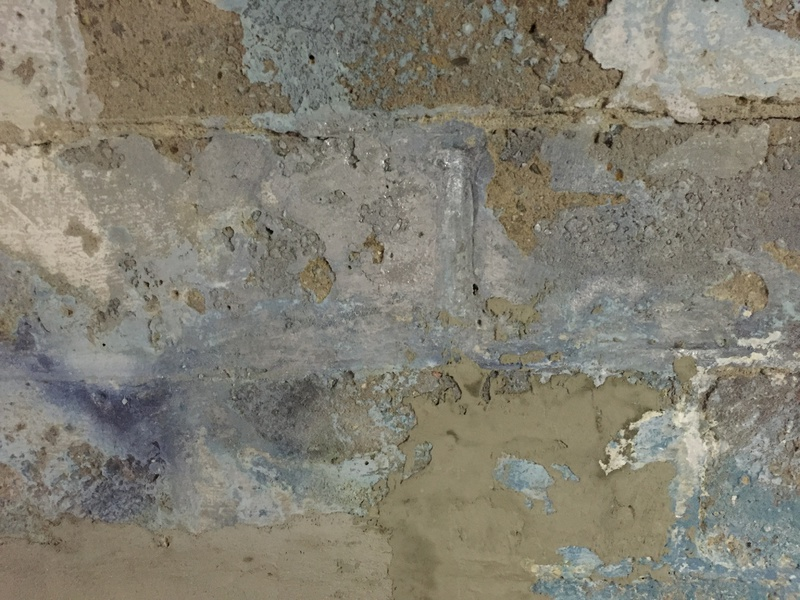 ... Best Basement Wall Paint On 100 Year Old Cinderblocks Img_1692