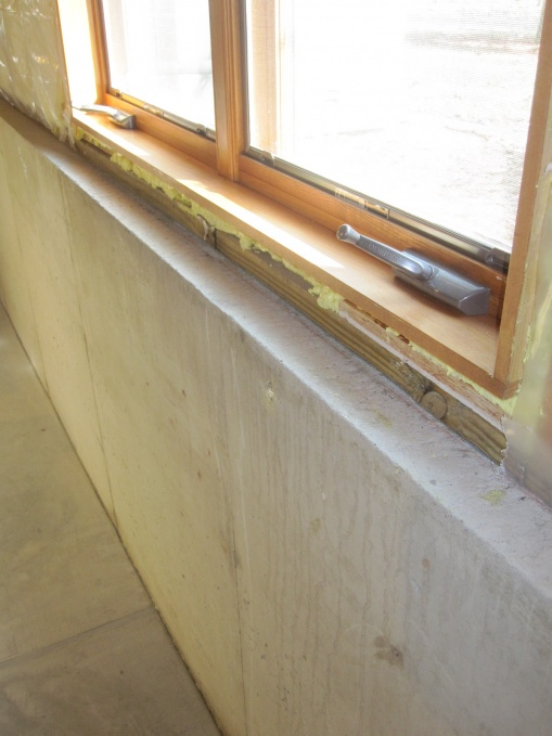 ... Frame out basement half wall-img_1721.jpg & Frame Out Basement Half Wall - Remodeling - DIY Chatroom Home ...