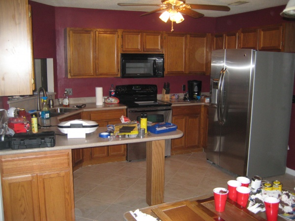 suggestions on kitchen cabinet stain color
