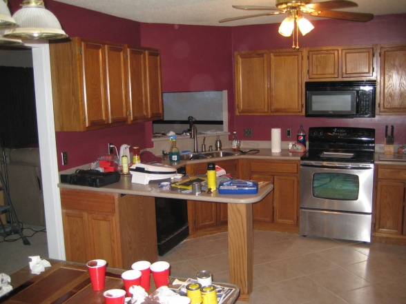 Looking For Suggestions On Kitchen Cabinet Stain Color