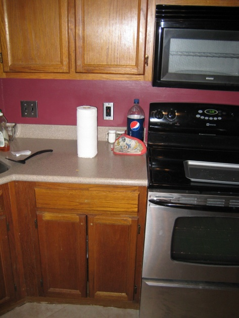 Looking for suggestions on kitchen cabinet stain color.....pictures attached-img_1764.jpg