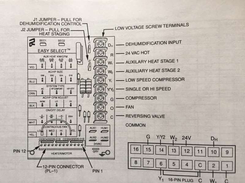 2 Stage Thermostat Wiring Diagram Two Stage Furnace ... on