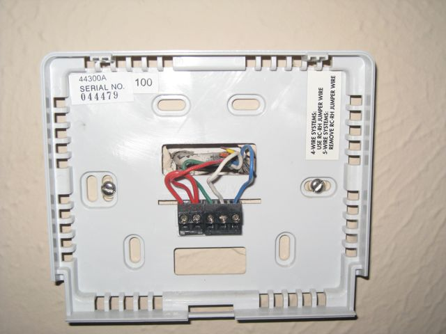 Thermostat Wiring-transformer  Where To   - Hvac