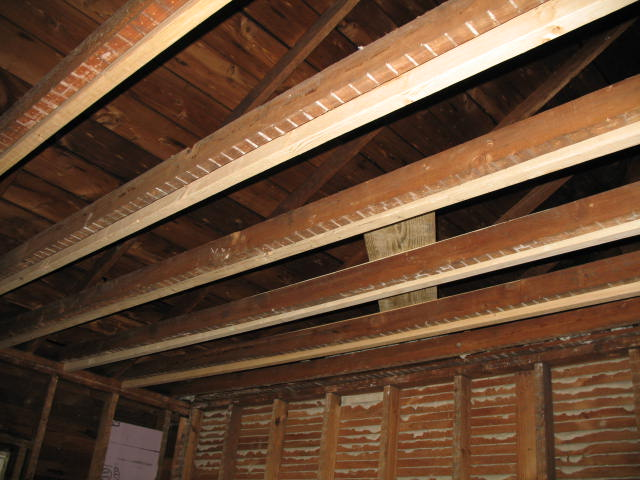 Bowed Ceiling Joists Building