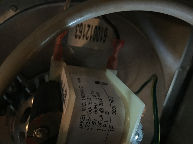FASCO Inducer Motor Warranty - HVAC - DIY Chatroom Home
