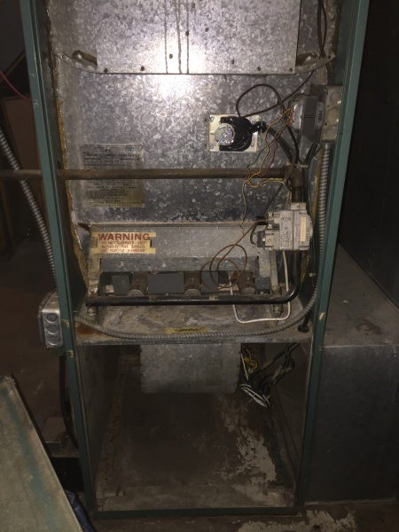 furnace blower trip and spark hvac diy chatroom home improvement rh diychatroom com Miller Oil Furnace Wiring Diagram Mobile Home Furnace Wiring Diagram