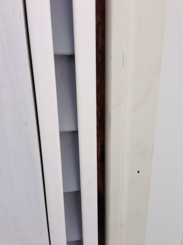 installing new exterior door what to do with gaps between door and