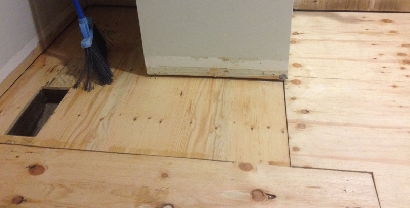 HElP With Template Plywood Underlay