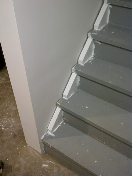 Painted Stair Treads