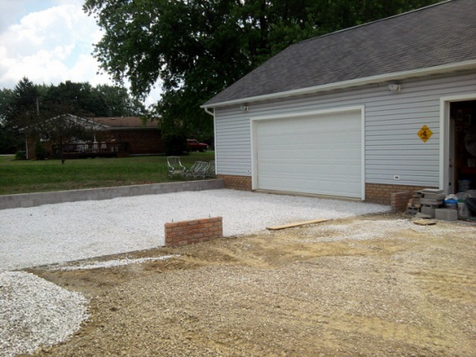 Building a garage on sloped pad home desain 2018 for Building a detached garage on a slope