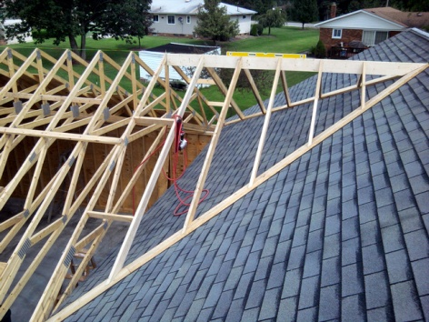 Tying In New Garage Roof To Old Garage Roof Roofing