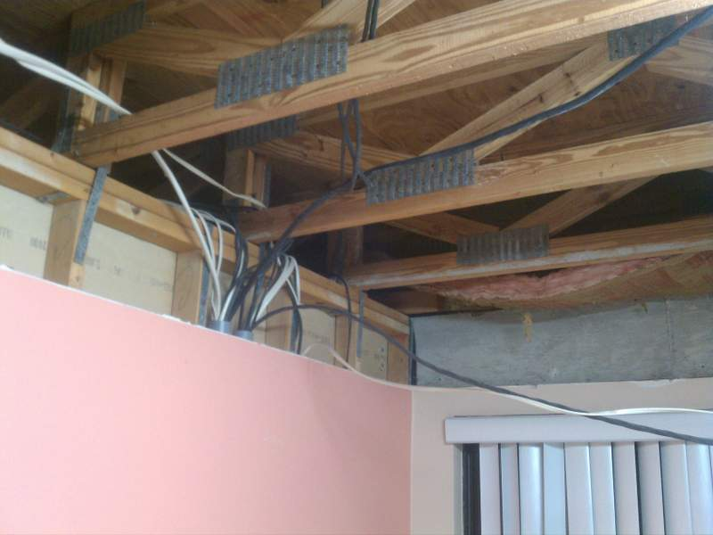 how to build a load bearing stud wall