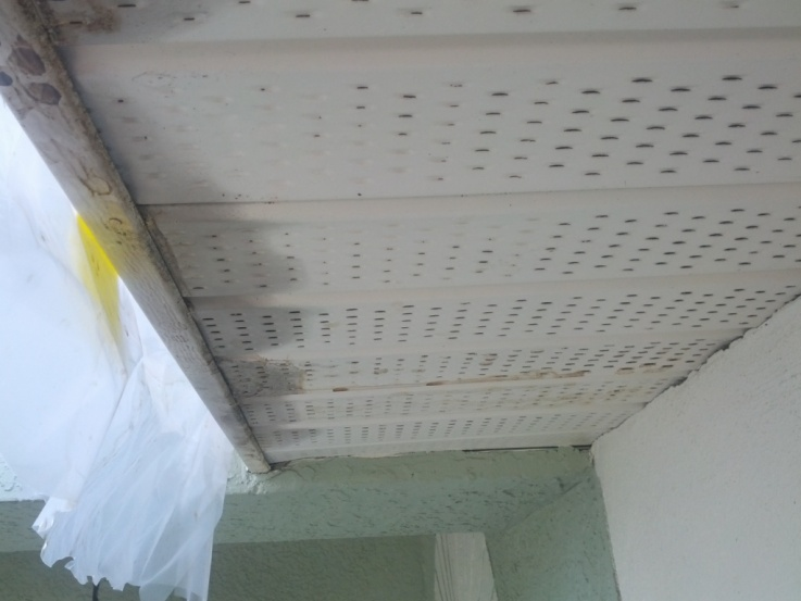 Whats Causing Rain To Go Back Up Into The Soffits