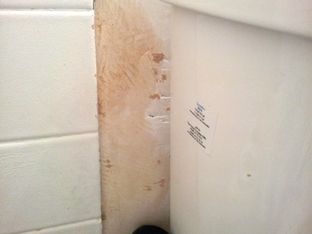 Repair/Seal A Section Of Bathroom Wall After Removing Tile ...