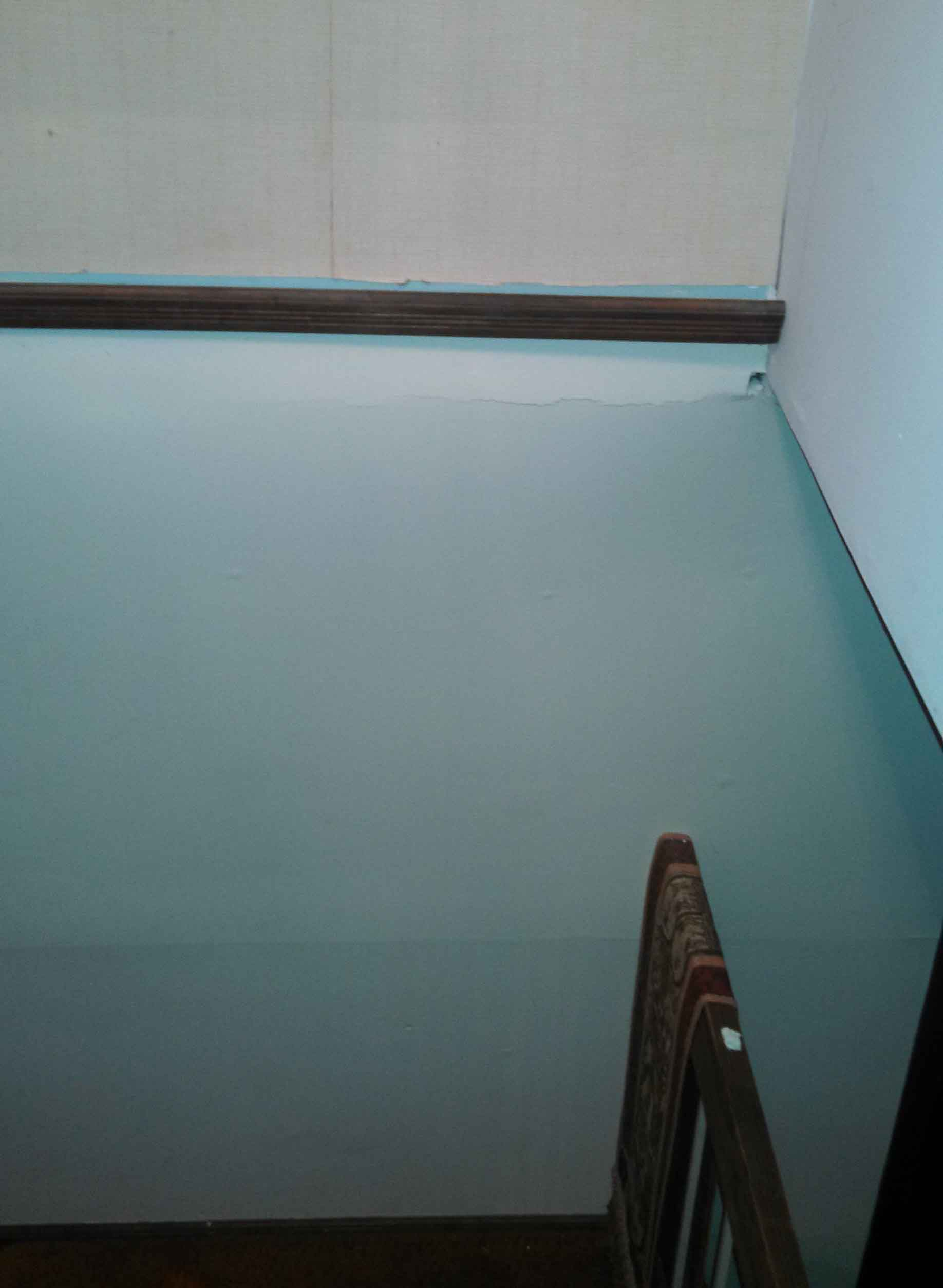 Large Bulge In Wall Cause Drywall Amp Plaster Diy