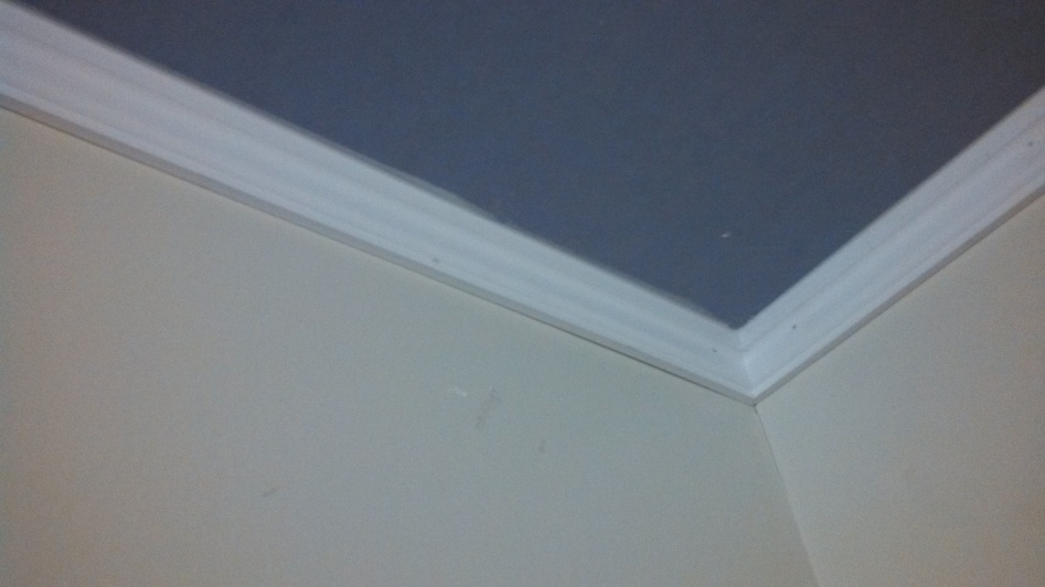 Crown Moulding For Bathroom Ceiling Wall Joint Ok To Use
