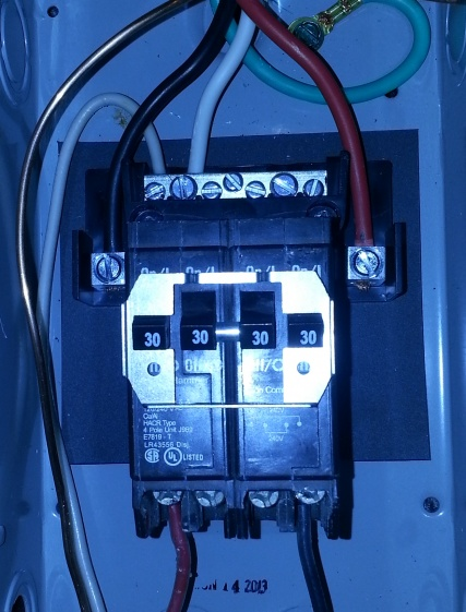 240 4 Wire Dryer Outlet To 60 Amp Subpanel