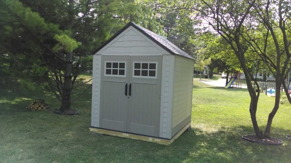 Help With Foundation For 7x7 Rubbermaid Shed Building