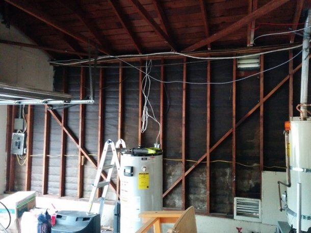 types of home wiring home wiring through attic running wires from panel to attic - electrical - diy ... #15