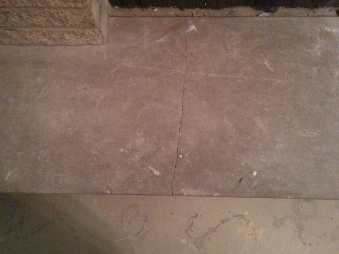 Repair Cracked Concrete Fireplace Hearth - Concrete, Stone ...