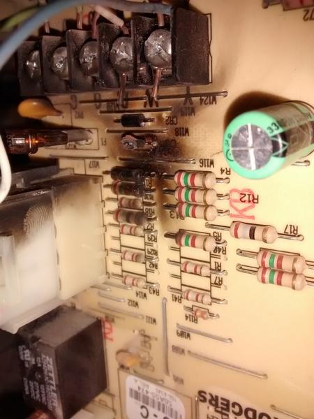 Burned Control Board, But Heat Still Works - HVAC - DIY