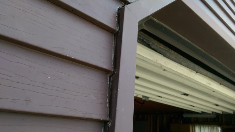 Capping Garage Door Frame Dandk Organizer