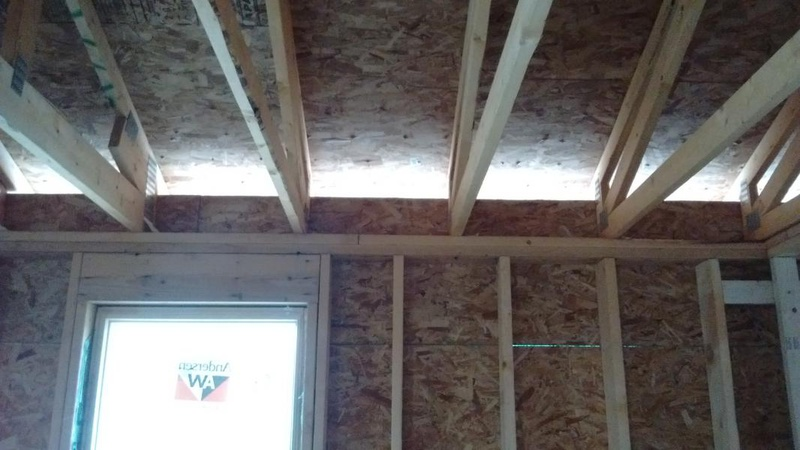 Attic Kneewall Gap Or Vent Roofing Siding Diy Home