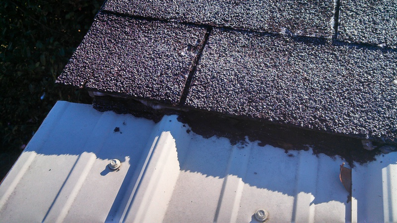 Flashing From Shingles To Metal Roofing Roofing Siding