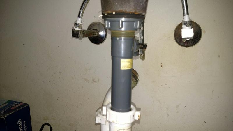 SLOW Leak/Drip In Upstairs Bathroom Sink Lines, How To  Resolve? Img_20160410_210904148