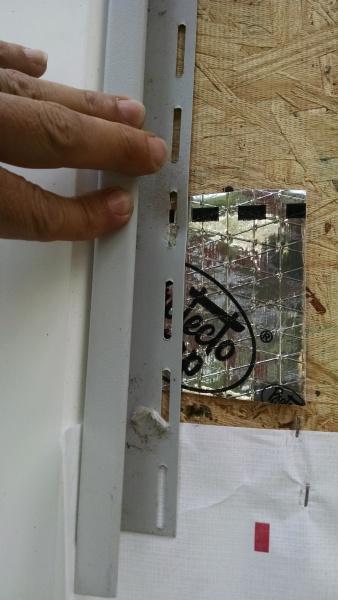 Sliding Glass Door Flange Under Sheathing General Diy
