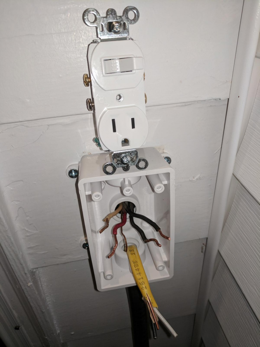 How To Extend Power  Outlet To Outside  - Electrical
