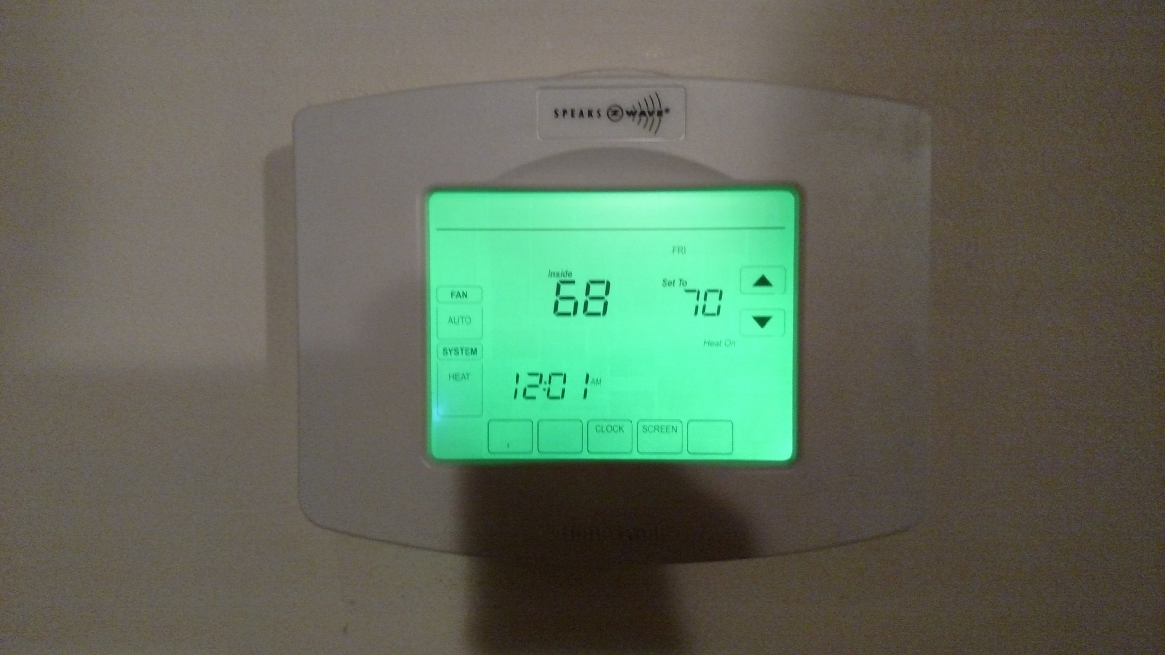 Review Of New Honeywell TH8320ZW Programmable Thermostat ...
