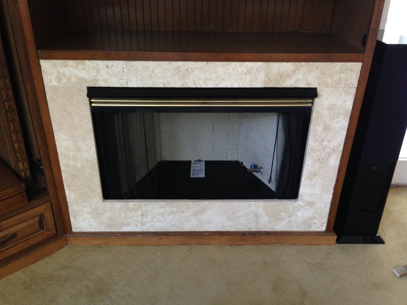 How To Remove Gas Fireplace From Built In
