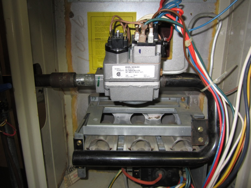 Carrier Essex gas valve, pilot problem | DIY Home Improvement ForumDIY Chatroom