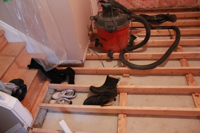 Insulating Split Level Ground Floor Concrete Slab