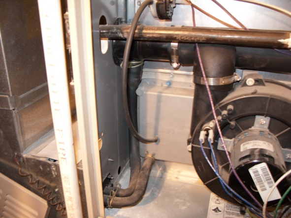 how to fix a leaking furnace