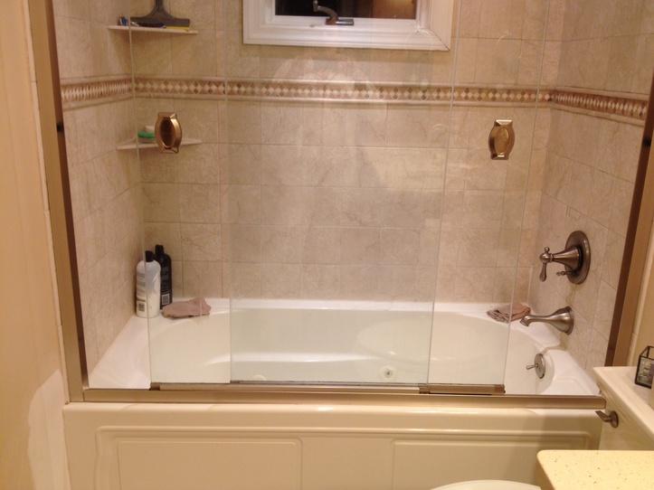 Shower Sliding Door Leaking Plumbing Diy Home