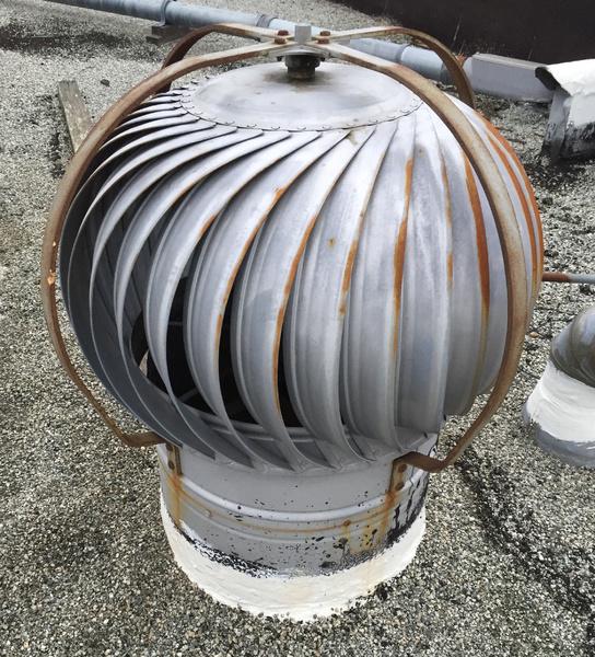 rain proofing a turbine roof vent - Turbine Roof Vents