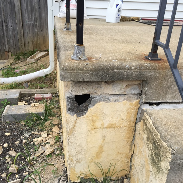 How To Repair Crumbling Cinder Block Wall Mycoffeepot Org