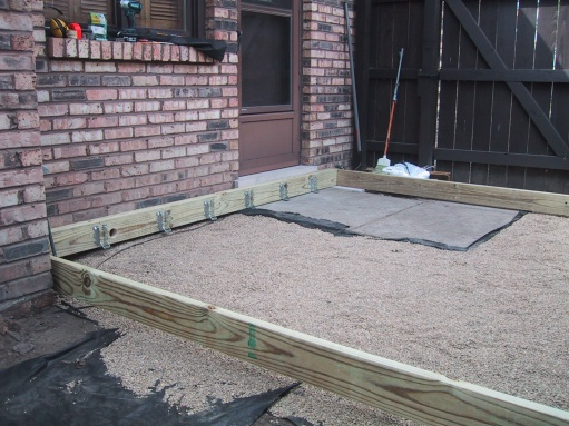 My Ground Level Deck Project Project Showcase Diy