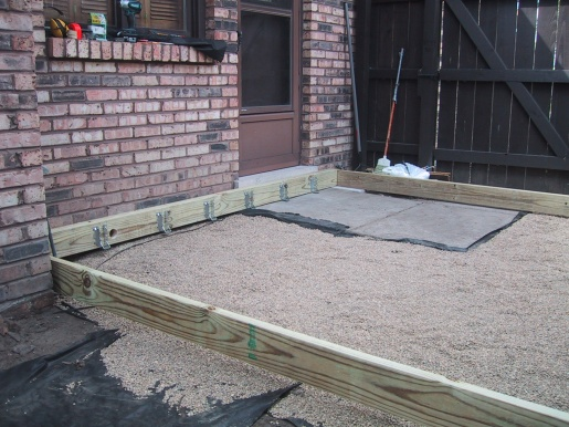 Build A Deck On The Ground Diy Home Improvement Forum