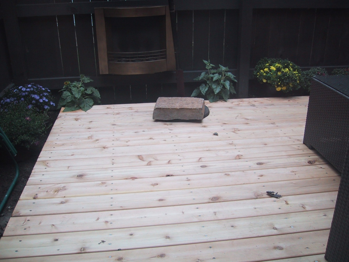 Nearly) Ground Level Deck Beam To Footer Connection Question