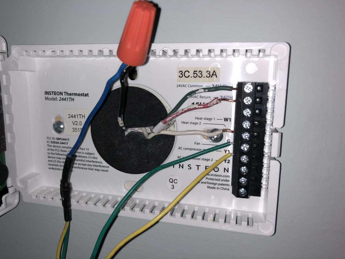 Venstar Add A Wire Lux Nest Thermostat Wiring Diagram Help Hvac Diy Chatroom Home Improvement Forum
